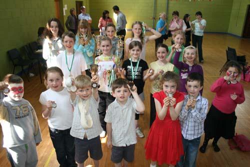 Prizewinners at Kilcorney Centenary Feis