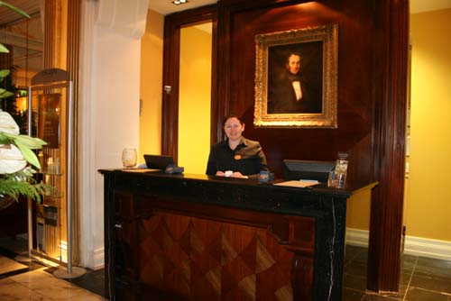 Geraldine Cronin, Millstreet pictured recently at Cork's Imperial Hotel where she is Senior Receptionist.