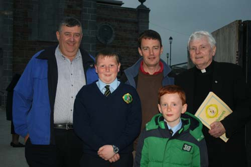 Attending the recent GAA 125 Mass at St. Patrick's Church, Millstreet.