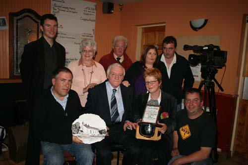 Special presentation to Dan Joe Kelleher at Carrigmill Bar