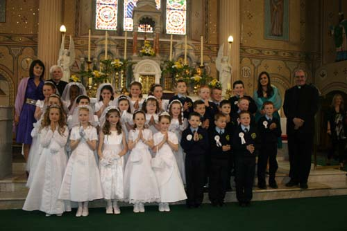 1.First Holy Communion 2009 at St. Patrick's Church, Millstreet. 2. Pictured on Saturday, 16th May 2009 at the Centenary