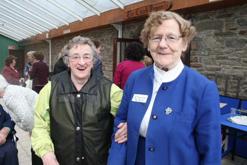 Pictured on Saturday, 16th May 2009 at the Centenary Celebrations in Green Glens, Millstreet when a hundred years of the Sisters of the Infant Jesus at Drishane was  recalled.