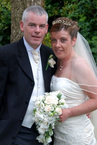 Brendan Hickey Millstreet & Liz Cotter Ballinagree who were married in Ballinagree & held their reception in Blarney Wollen Mills Hotel. Pic Geraldine D-500.jpg