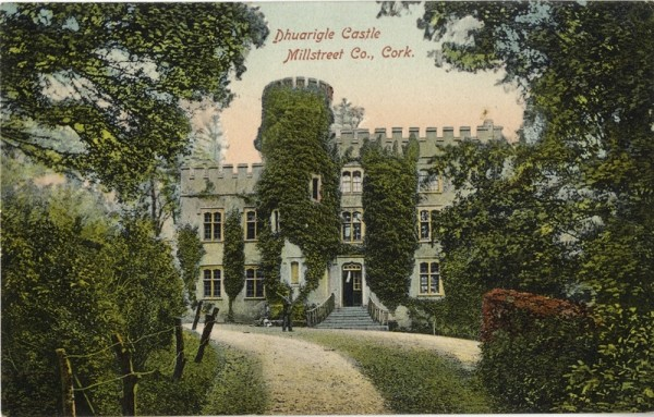 Postcard: Duarrigle Castle in its glory days