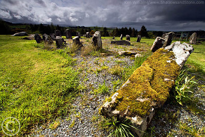 Stone Circle at Millstreet Country Park
