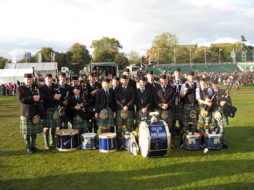 Cullen Pipe Band