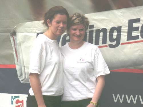 Christina and Joanne Carroll, Ballydaly who took part in the 28th Evening Echo Mini Marathon on Sunday 27th September
