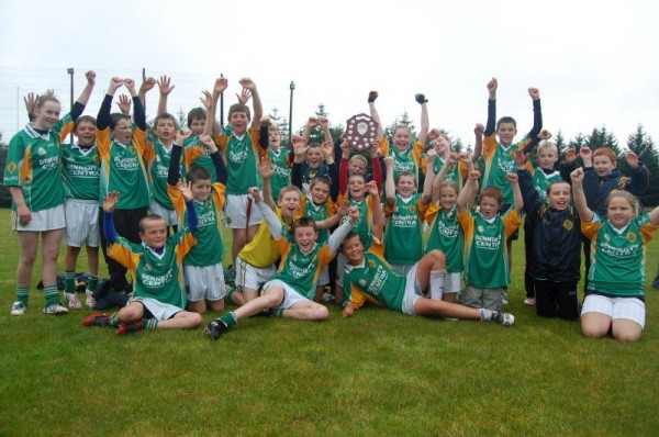 Millstreet U12 Hurlers who won the Duhallow Final in Meelin yesterday (Sun 6th Sept 2009).