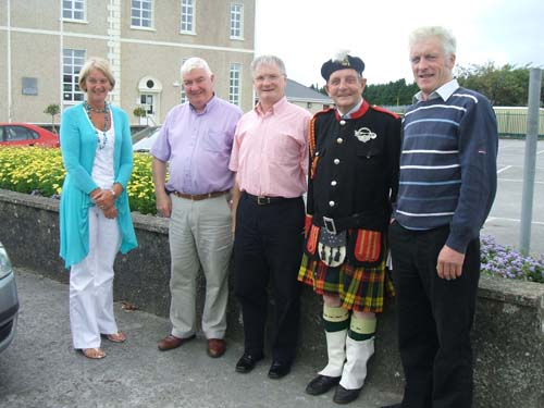 From left – Joan O'Mahony, Tony & Donal Gallagher, Liam Coffey and Brendan O'Sullivan
