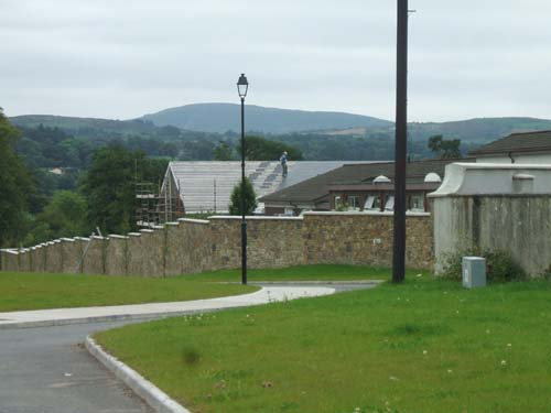 The roofing of the two room extension at Presentation N.S., Millstreet, which is now completed.