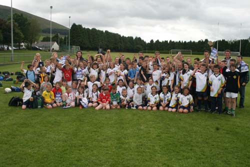 GAA4Kidz participants at Millstreet Town Park during Summer 2009
