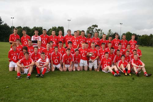 The winning Cork Team that participated in the Humphrey Kelleher Memorial Cup Competition