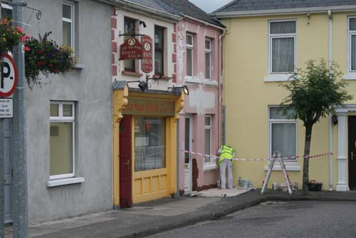 The Radley name – so familiar at the Square, Millstreet – for decades – recently disappeared when the original home was given a complete paint over by the present owner