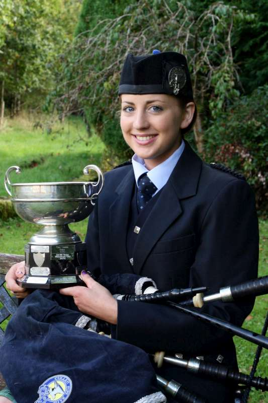 Caitlin Houlihan Cullen Pipe Band, won the All Ireland Solo Junior Piping Competition held recently in Dublin