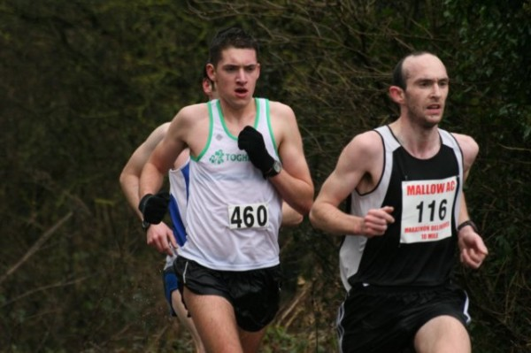 Donal Coffey from Drishane Rd on his way to a creditable 16th position