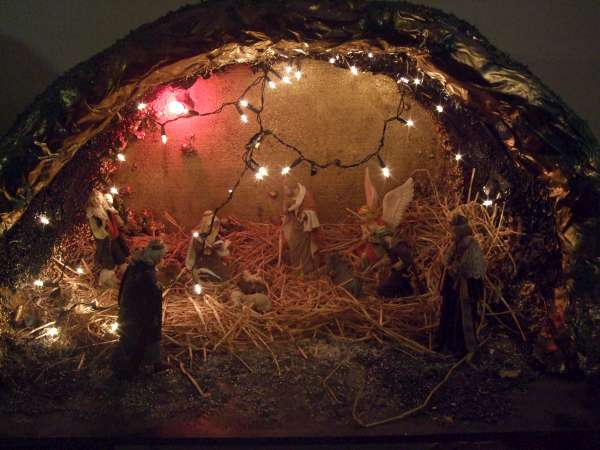 The Christmas Crib in Drishane