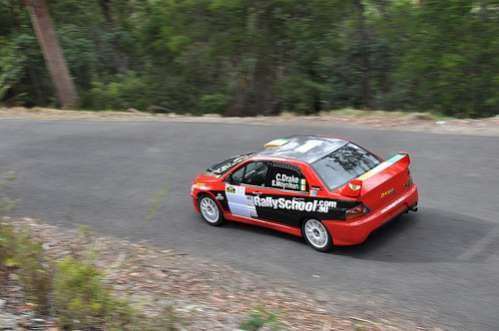 2010 Rally Tasmania - stage 1