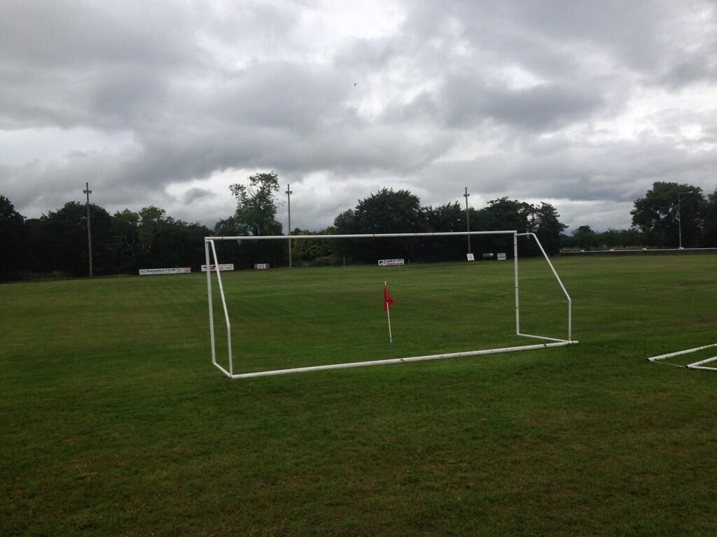 The Los Zarcos pitch at the Station Road, Millstreet (2013)