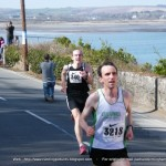 Ballycotton '10' 2010 - Donal Coffey (#340) feels the pain at the finish