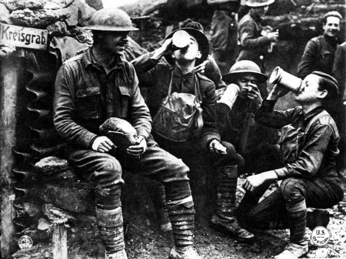 WWI in the trenches