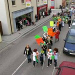 airtakephotos.ie - St.Patricks Day Parade - Boys National School