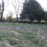 Cillín - Stones mark some of the graves