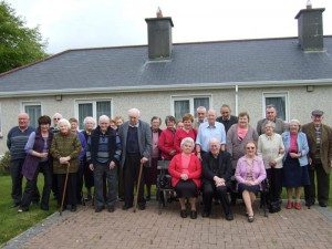 Residents and Visitors at the Cannon O'Donovan Centre