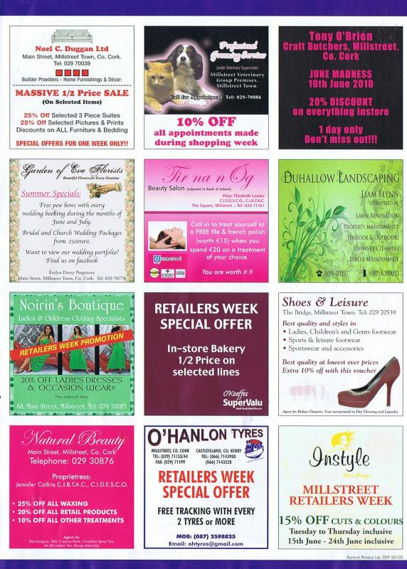 Millstreet Shopping Week - page 4-800