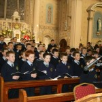 Pupils from Scoil Mhuire, Millstreet B.N.S. presenting a truly superb carol service in St. Patrick's Church, Millstreet before Christmas 2009. (Pic.:  Seán Radley)
