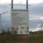 A scene from the Gneeves Windfarm 2004