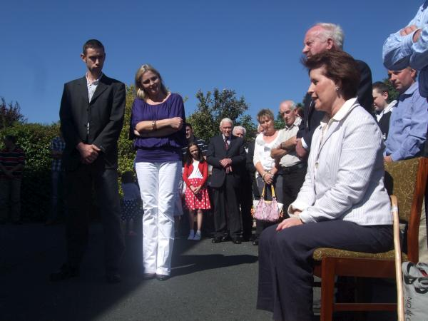 Briget Daly tells of how Cardinal Levada came to Kilcorney