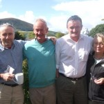 Ron, Eamonn, Joe & Margaret meet in Millstreet