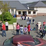 GoogleStreetView - Collecting students from Rathcoole NS-1000