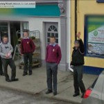 GoogleStreetView - Community School Students outside Centra at the West End-800