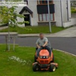 GoogleStreetView - Groundsman Liam Flynn cutting the grass at Cedar Close-800