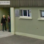 GoogleStreetView - Sheltering at the door of the GAA Hall-800