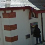GoogleStreetView - There's always someone at the hole-in-the-wall
