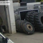 GoogleStreetView - Waiting for a tyre at O'Hanlons