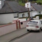 GoogleStreetView - Walking to work, and another couple having a chat over a gate-800