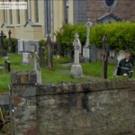 GoogleStreetView - Working on the Church Graveyard-800
