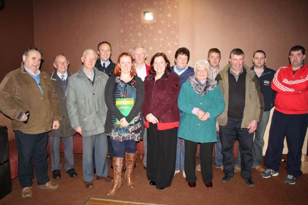 Helen of IRD Duhallow with members of the audience on 17th Nov. 2010