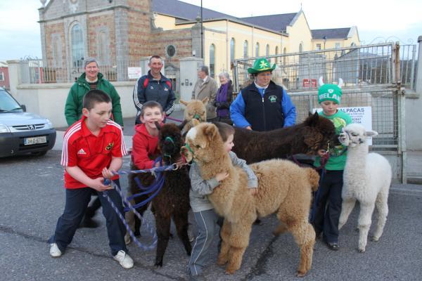 Participants at St. Patrick