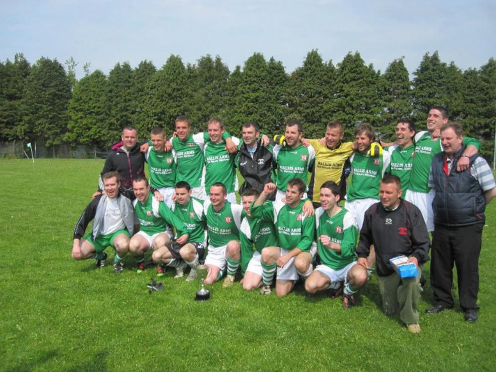 2011-05-02 Millstreet Celtic Win League 2A - Team photo 01-1000