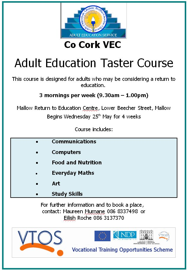 free adult learning courses