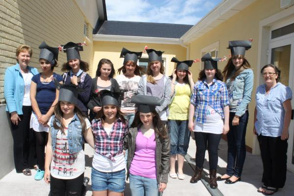 Graduation Day 2011 at Presentation N.S., Millstreet