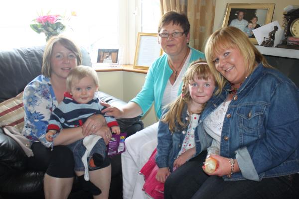 Coffee Morning at Knockcahill, Rathcoole Today – Jerry O