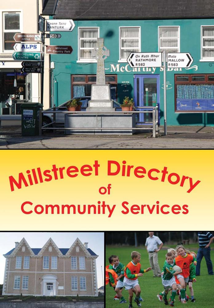 Millstreet Directory of Community Services - front page-1000