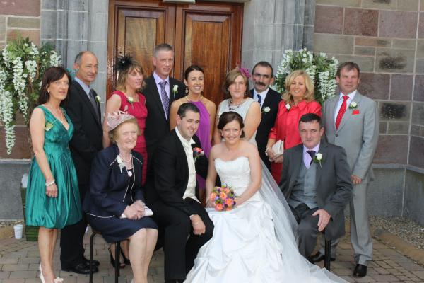 Liz healy wedding