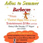 2011-08-27 Macra - Adios to summer barbecue - poster