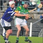 2011-09 Donagh McCarthy under pressure from a Kilbrin player during the Duhallow Championship (from the corkman)